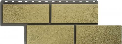 Фасадная панель Камень Неаполитанский (песчаный)