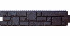 Фасадная панель Grand Line ЯФАСАД Екатерининский камень (Уголь), 1,40м