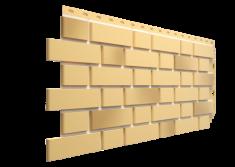 Фасадная панель Docke Flemish, Жёлтый / жжёный