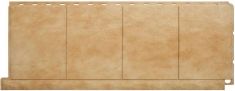 Фасадная панель Плитка (травертин)
